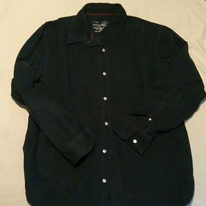 Old Navy Dark Navy Corduroy Shirt in size Large